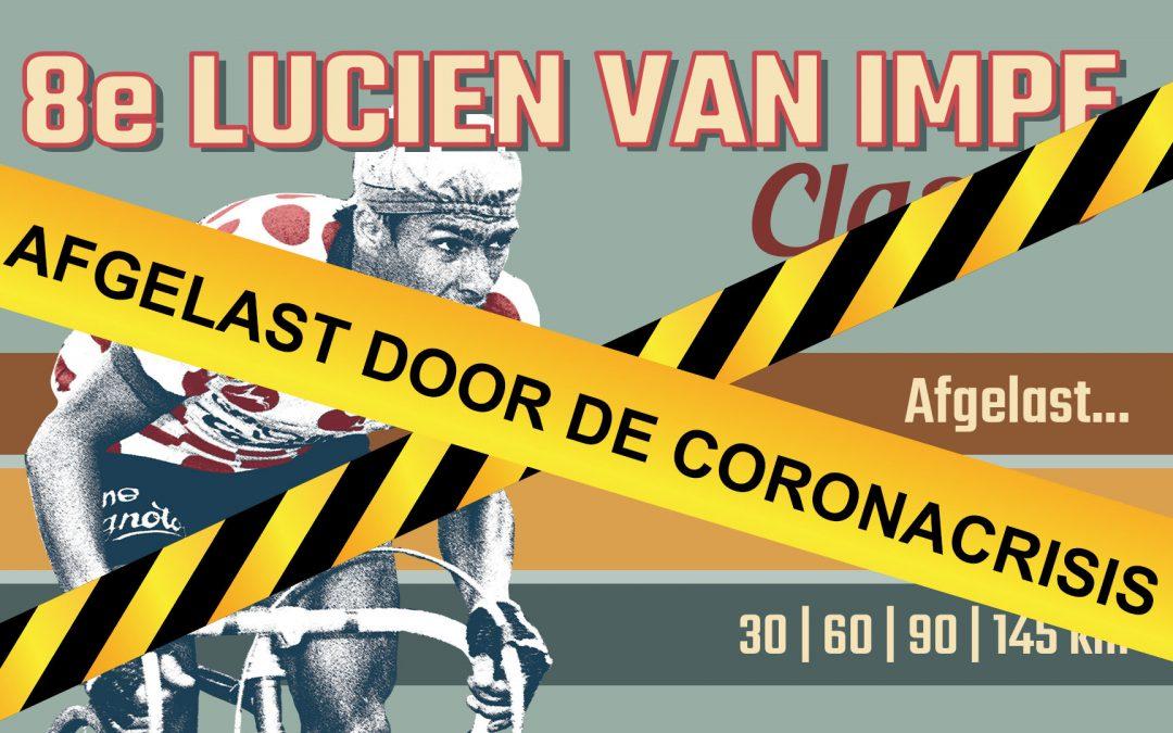Lucien Van Impe Classic afgelast.